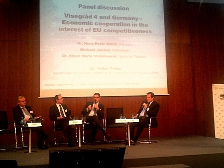 Visegrád 4 and Germany - Economic Cooperation in the interest of EU competitiveness